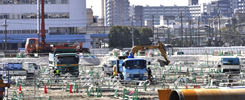 安全を優先した工事施工を徹底