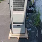 配電盤冷却装置フロンガス回収