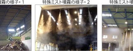 粉塵防止システム