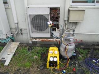 炭化水素系混合冷媒 ナチュラルグリーンガス(自然冷媒)工事